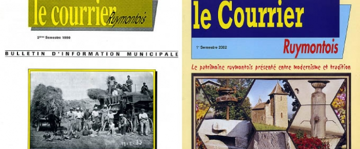 Les archives du Courrier Ruymontois