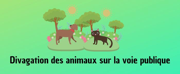 Divagation des animaux sur la voie publique