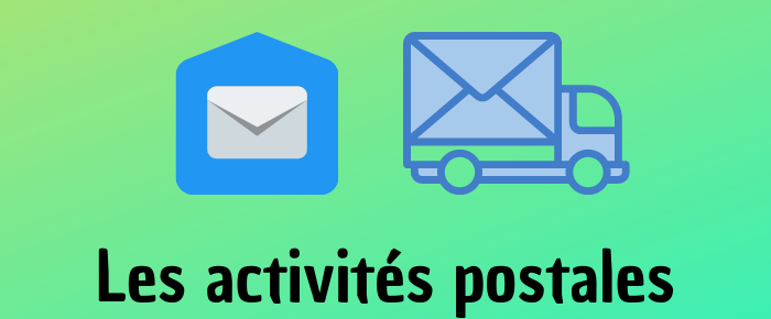 Les activités postales